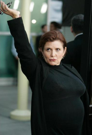 Carrie Fisher A.D. 2014