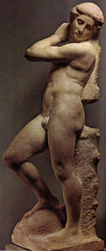 The Apollo-David or 'Apollino' by Michelangelo Buonarroti
